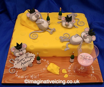 Mice and Cheese Party Imaginative Icing Cakes Scarborough