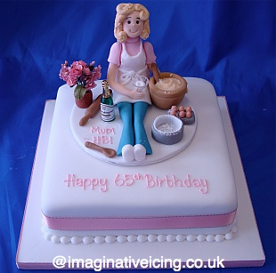 Birthday Baking lady Imaginative Icing Cakes Scarborough York