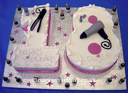 Number 18 Birthday Cake Imaginative Icing Cakes Scarborough