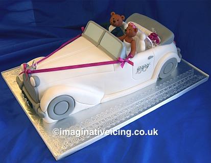 3D Wedding Car - Wedding Cake