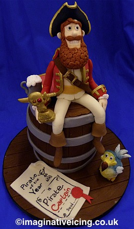 The Pirates in an Adventure with Cake