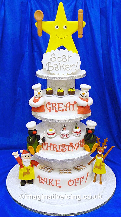 The Great Christmas Cake Bake Off Star Baker