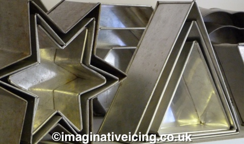 Cake Tin Hire - Star, Triangle, Long Octagonal, Round, Square and many more...