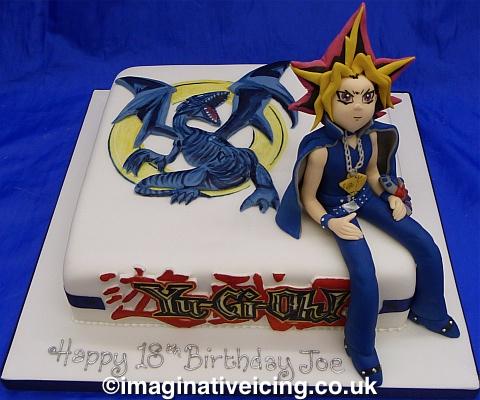 Yu-Gi-Oh! Birthday Cake