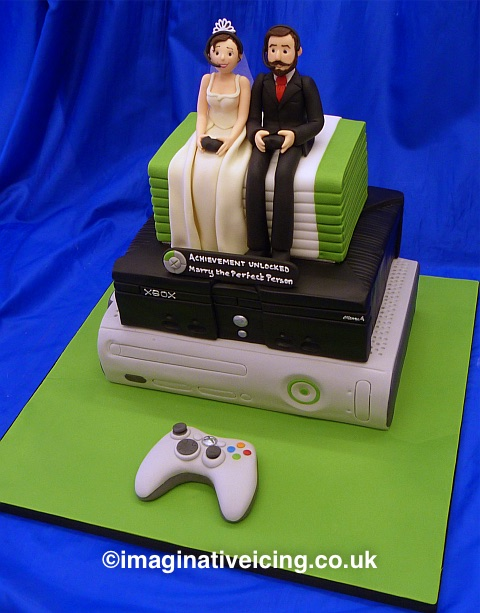 Xbox Wedding Cake Topper Uk